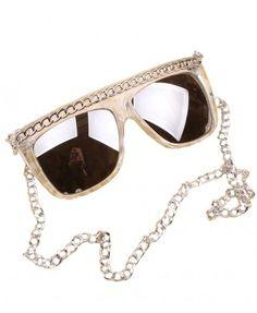 7230471ba371 Unique Sunglasses with Chain Details Latest Sunglasses