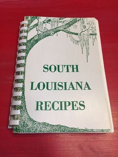 Vintage South Louisiana Recipes 1954/1972 Lake Charles Creole Southern Gumbo   | eBay