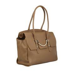 b0958e0dac COCCINELLE Handtasche aus echtem Leder - Vorderansicht Damenmode Online  Shop, Bucket Bag, Front Elevation
