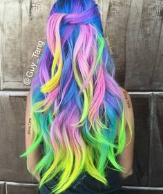 Found @Guy_Tang on Instagram. Gorgeous hair inspiration for the brave!