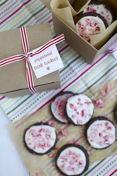 Peppermint Bark Cookies | Annie's Eats by annieseats, via Flickr
