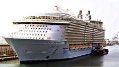 Grootste cruiseschip naar R'dam | NOS