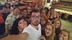 Group selfies with Dustin!!! :D Part 2