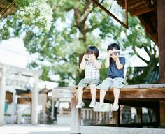 These Photos Taken By A Japanese Photographer Of His Sons Will Make You Smile