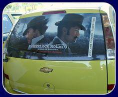 Sherlock vai de táxi!
