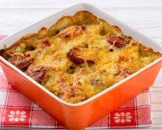 Gratin de blé et petits pois aux saucisses : http://www.fourchette-et-bikini.fr/recettes/recettes-minceur/gratin-de-ble-et-petits-pois-aux-saucisses.html