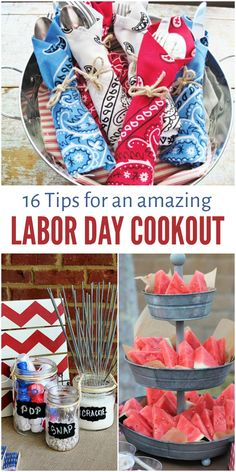 Nothing is more fun than a well-planned outdoor party. Summer ends in September, and for us at least, Labor Day seems to signal the end of summer fun. Why not go out with a bang by hosting an amazing outdoor party? Here are 16 Labor Day cookout ideas to help you host the best bbq ever.