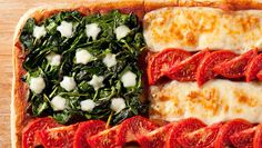 "Make a Pizza ""Flag"" in honor of Flag Day! Only $0.82/serving."