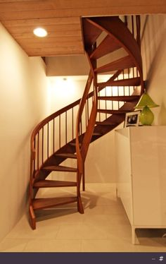 Staircase ideas - on, under, around.....