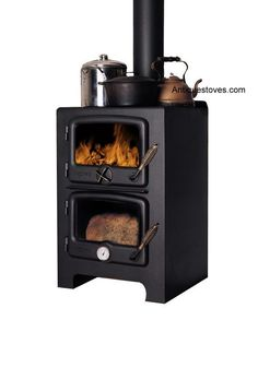 Wood burning cooking stove..want this in my kitchen!