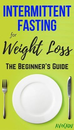 Using intermittent fasting for weight loss is a powerful diet tool when done correctly.  Many people are confused about how it works, so we're here to help clear that up and help you lose weight fast! http://avocadu.com/intermittent-fasting-for-weight-los