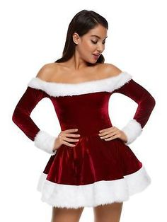 17080f4885d Ann Summers Womens Sexy Miss Santa Outfit Sexy Christmas Costume Fancy  Dress Santa Dress Women