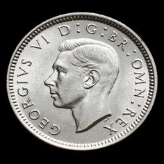 1937 George VI Silver Sixpence – UNC