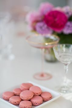 Pink macaroons: http://www.stylemepretty.com/living/2015/02/25/three-spring-cocktails-to-try/ | Photography: 37 Degrees - http://www.37-degrees.com/