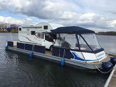 Camping auf dem Wasser - so wird das Wohnmobil zum Floß - Campofant