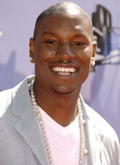 Tyrese  Gibson, love his smile too