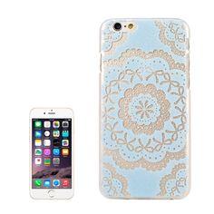Embossment Style Paper-cut Pattern Plastic Case for iPhone 6 Plus & 6S Plus