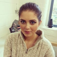 Loving this make up look on our gorgeous model