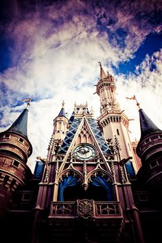 There's no more beautiful sight than Cinderella's Castle at @Walt Disney World!