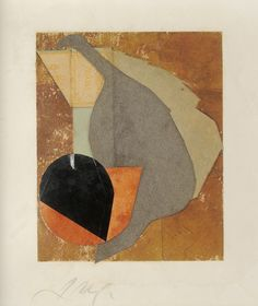 Jean Arp (1886 - 1966) Before my birth (Avant ma naissance), 1914