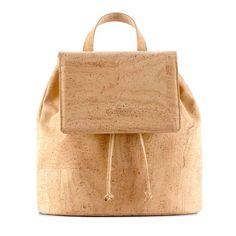 Rucksack «Corkor» aus Kork – Nachhaltiger Rucksack online kaufen Leather Backpack, Reusable Tote Bags, Backpacks, Fanny Pack, Natural Colors, Cleaning Agent, Handmade, Leather, Leather Backpacks