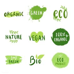 Collection of environmental friendly typography vectors Free Vector - Young Image - Collection of environmental friendly typography vectors Free Vector Collection of environmental friendly typography vectors Free Vector - Nutrition Month Costume, Environment Logo, Design Plat, Friend Logo, Fish Logo, Vintage Lettering, Logo Food, Letter Logo, Ikon