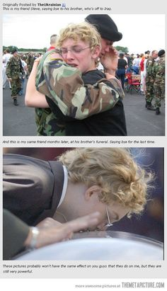 This is so sad. It made me cry a little if you really think about it .. It's sad !!