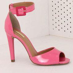 Sandália Salto Feminina Brenda Lee - Pink - Passarela
