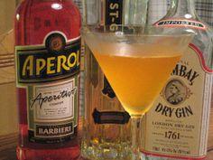 Bitter Elder  1 1/2 ounces gin (I used Bombay original)  1/2 ounce fresh lemon juice  1/2 ounce Aperol  1/2 ounce St. Germain
