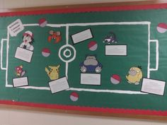 Drug and Alcohol Pokemon Bulletin Board.  Each pokemon is associated with a specific common drug
