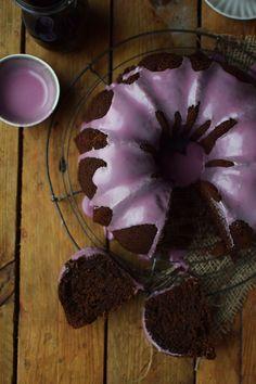 Rotweinkuchen - Red wine Cake
