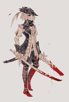 Daniel è il caro amico ho accennato nel post prima, e lo scrittore per la nuova storia breve Bloodborne ho postato.  Abbiamo avuto un sacco di divertimento creando nuovi cacciatori e giocare il gioco insieme prima di iniziare a lavorare insieme.  Ecco una serie di disegni di ...