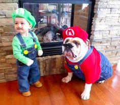 Super Mario Bros Halloween Costume