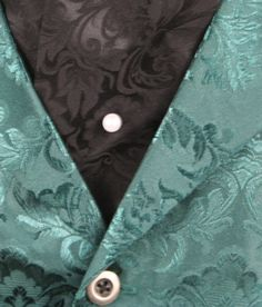 Pearl Tie Tack  nm that the green vest. oh baby!!