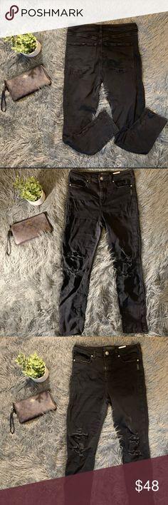 NWT Women/'s SILVER Jeans Skinny Cargo Black Size W30 L29