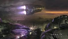 Just In Time #ConceptArt from #HaloReach