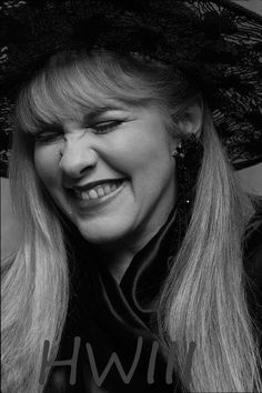 Stevie Nicks, shared by Arlene Lewis, photo by HWIII.