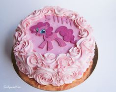 Cake Images With Name Pinky : My Little Pony party: Pinkie Pie Birthday Cake! My ...