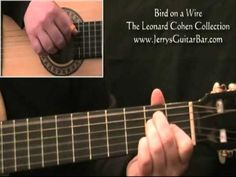 How To Play Leonard Cohen Bird on a Wire Guitar Tips, Guitar Songs, Guitar Lessons, Guitar Tabs Acoustic, Leonard Cohen, Inspire Me, Drugs, Jazz, Om