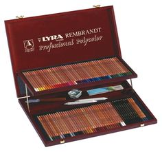 Amazon.com : LYRA Rembrandt Polycolor Art Pencils, Set of 72, Assorted Colors (2001720) : Wood Colored Pencils : Office Products