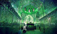 Gli splendidi interni del mausoleo Shah Cheragh, in Iran. H.L.Tam, IslamSciFi, David Holt, soniafilinto, fukenoyu, Maite Elorza
