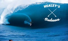 "almasurf.com ""Charles Bronson do surf"", Mark Healey elege os 10 mais casca grossa"