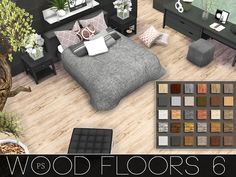Sims 4 CC's - The Best: Wood Floors by Pralinesims