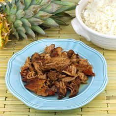 Slow Cooker Luau with Kalua Pork - thestayathomechef.com