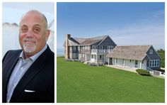 Billy Joel Beach Home - Celebrity Homes For Sale - House Beautiful.  Love Nate Berkus decorating <3