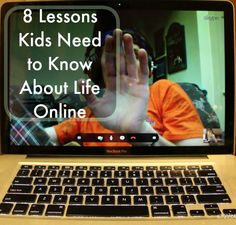 8 Things you must tell your kids about social media.  The internet and social media are a challenge to any parent, here are lessons to pass on to kids venturing online.