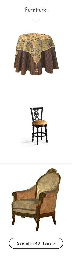 """""""Furniture"""" by lorika-borika on Polyvore featuring furniture, tables, tablecloth, vintage, home, stools, barstools, white barstools, white leather counter height stools и leather counter stools"""
