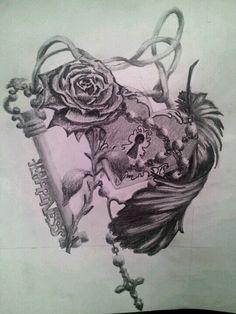 Tattoo Design I drew. Pencil drawingTattoo Design Pencil Drawing