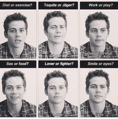 Dylan O'Brien... Even though he is almost five and a half years younger then me, he is my perfect nerd crush!!!