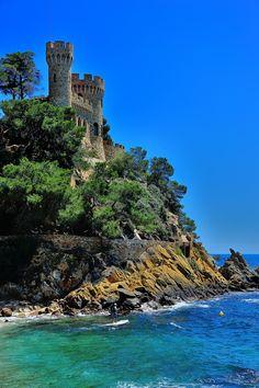 Castell d'en Plaja - Lloret de Mar, Costa Brava